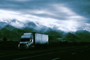 Al Reem truck at night